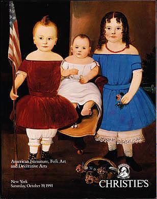 American Furniture, Folk Art and Decorative Arts - Saturday, October 19, 1991, Christie's