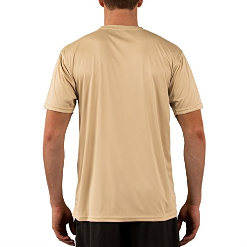 Vapor Apparel Men's Solar Performance UPF Short Sleeve T-Shirt XX-Large Vegas Gold