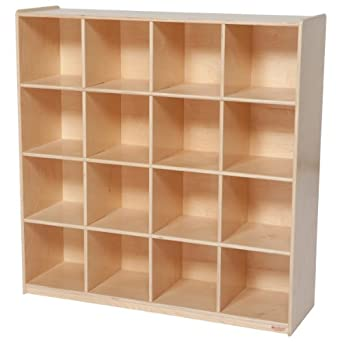 Amazoncom Wood Designs WD50916 16 Big Cubby Storage