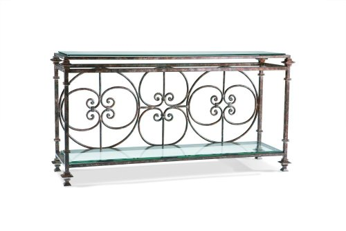 Cheap Iron Console Table by Sherrill Occasional – CTH – Malibu (475-710) (475-710)