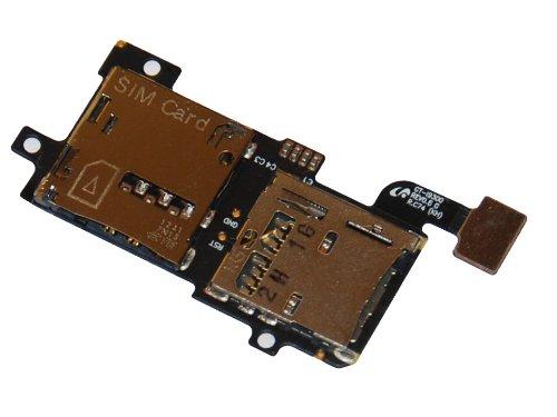 Micro SD Sim Karten Karte Card Halter Leser Slot Flex Kabel Speicherkarten leser für Samsung Galaxy S3 i9300 i9305 LTE