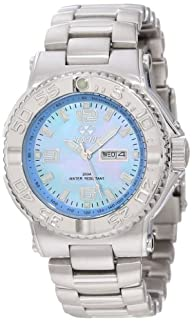 REACTOR Women's 77018 Classic Analog Mother-Of-Pearl Dial Watch