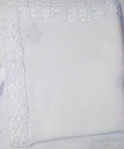 Hand Knitted Baby Blanket back-333002