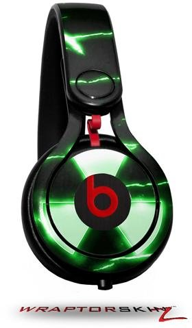 Radioactive Green Decal Style Skin (Fits Genuine Beats Mixr Headphones - Headphones Not Included)