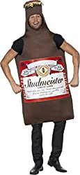Funny Side Fast Food Outfit Giant Hot Dog Halloween Costume Adult Fancy Dress from Smiffys