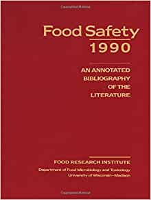 Annotated bibliography modified food