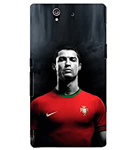 PRINTSHOPPII RONALDO FANS Back Case Cover for Sony Xperia Z::Sony Xperia Z L36h