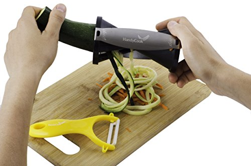 Spiral Slicer Combo – Compact Vegetable Cutter – Zucchini Pasta Noodle Spaghetti Maker