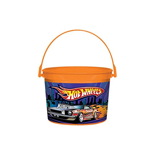 Amscan BB102893 Hot Wheels Bucket - 1