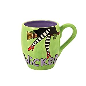 Enesco Our Name Is Mud by Lorrie Veasey Wicked Monkey Mug, 4-1/2-Inch