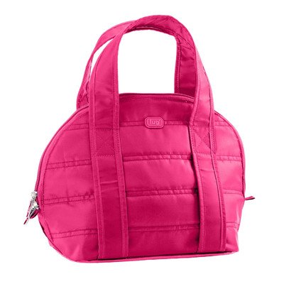 Lug Pedals Lunch Tote, Rose Pink
