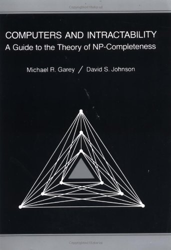 Computer and intractability: a guide to the theory of NP-completeness