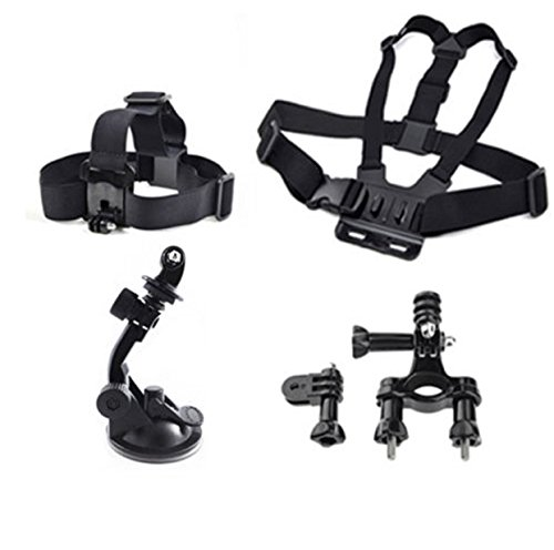 Chest Head GoPro Mount Case Accessories Suction Headlebar 2 3 4 5 Camera