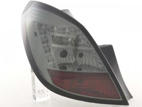 Led Taillights Opel Corsa D 5-Door Yr. 06-10 Black