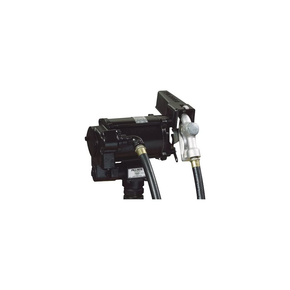 Fill Rite BD700V Biodiesel Transfer Pump, Telescoping Suction Pipe, 12 Delivery Hose, Manual Release Nozzle   115 Volt, 20 GPM