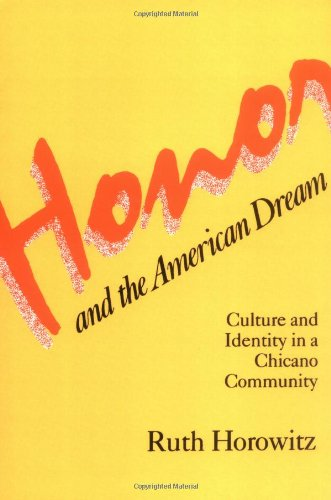 Honor and the American Dream: Culture and Identity in a...