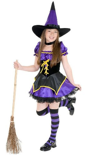 Charades Costumes - Midnight Witch Child Costume