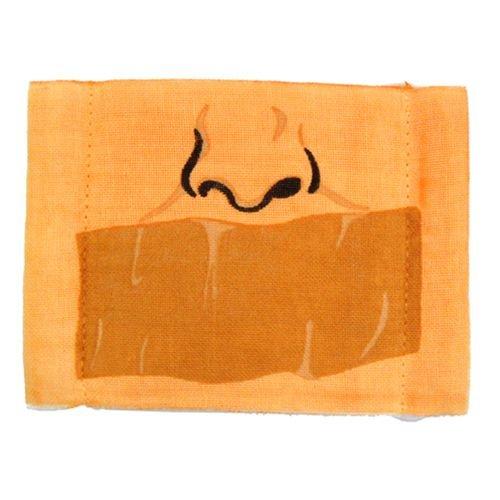《ガムテープ》プリントマスク面白ガーゼマスク通販