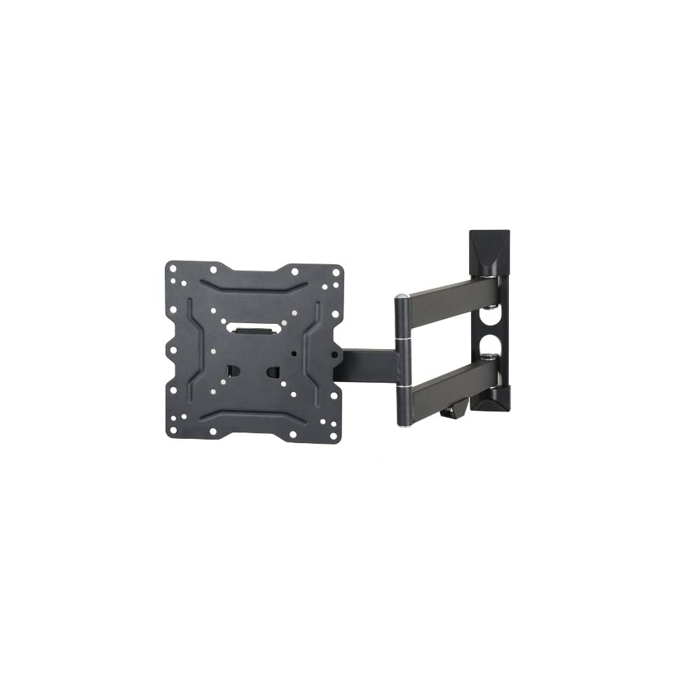 VideoSecu LCD LED TV Wall Mount Full Motion with Swivel Articulating Arm for 23 37 in, up to 42 in TV Monitor Flat Panel Screen With VESA 200 100, 20 in extension and Post installation Leveling System ML531B M84