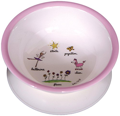 Baby Cie Suction Bowl - Ballerina - Pink