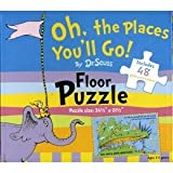 img - for Oh, the Places You'll Go! Floor Puzzle book / textbook / text book