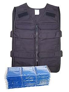 Steele Cooling Vests - Starter Kit - Color Blue