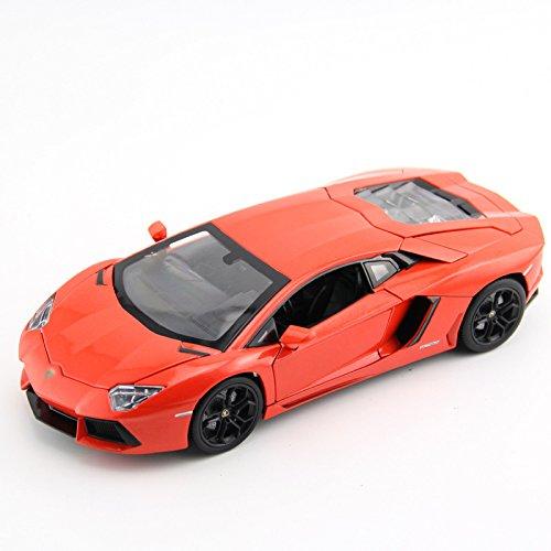 Tourwin Toy car 1:18 Lamborghini Gallardo simulation red Static Car Model Collection Decoration Alloy children's toys doors can open