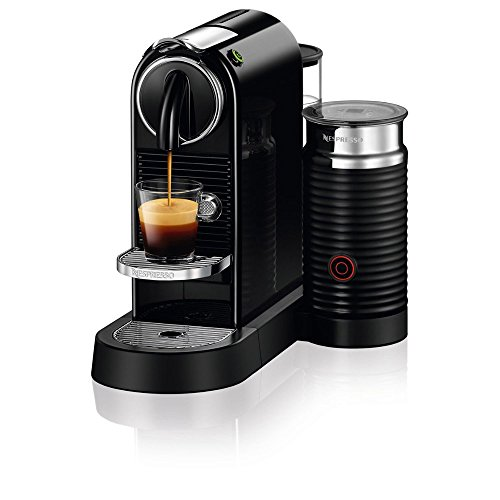 Nespresso D122-US-BK-NE Citiz & Milk Espresso Machine, Black (Nespresso Citiz Espresso compare prices)