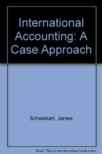 International Accounting: A Case Approach PDF