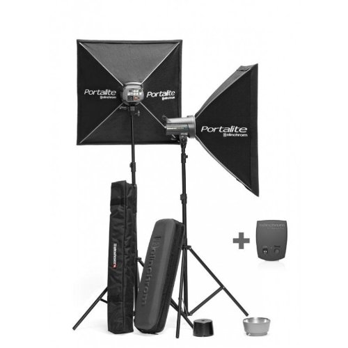 Elinchrom D-Lite IT 4 2 Head Studio Kit