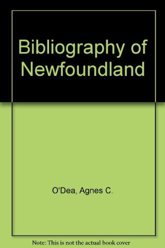 Bibliography of Newfoundland