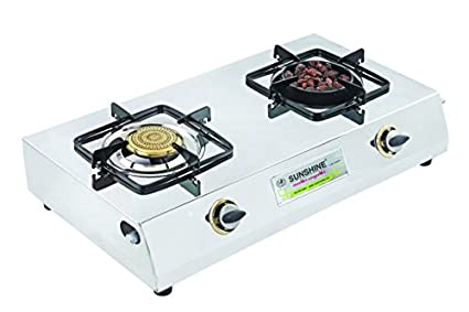 Sunshine Meethi Angeethi Gas Cooktop (2 Burner)