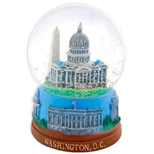 Washington DC Snow Globe - Capitol 100MM, Washington D.C. Snow Globes