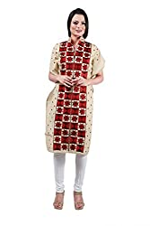 Indian Kalakari Cotton Unstitched Phulkari Kurti
