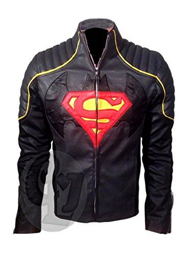 Clara Leather Jackets -  Giacca - Uomo Grey and Black XL