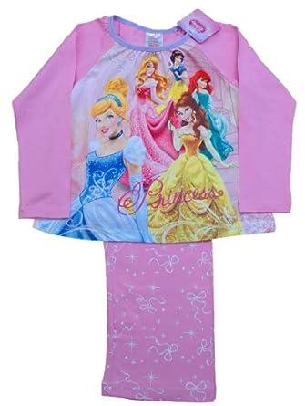 Disney Princess Pyjamas Princess Pjs girls Pyjamas (6-7 Years)