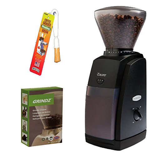 Baratza 485 Encore Coffee Grinder + Coffee Grinder Cleaner + Coffee Grinder Dusting Brush