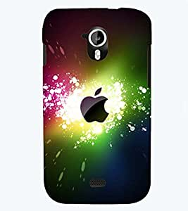 PRINTSWAG COLOURFUL APPLE Designer Back Cover Case for MICROMAX A116 CANVAS HD