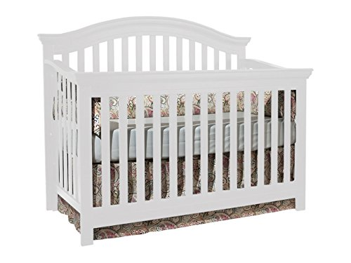 Munire Rhapsody Crib, White