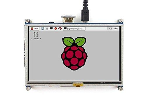 Elecrow Hdmi 5 インチ 800x480 TFT ディスプレー タッチスクリーンに付き Raspberry Pi Banana Piに対応