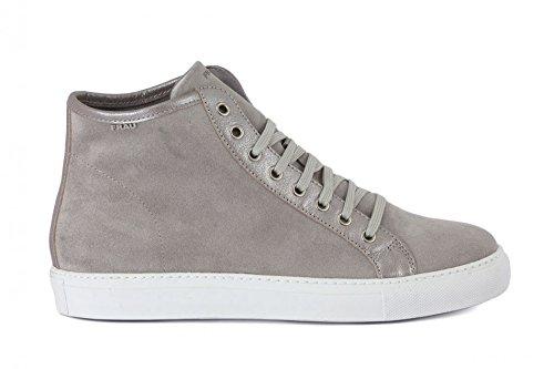 Frau 40A5 Sneaker Donna in Camoscio con Rialzo Interno (40, Nuvola Amalfi)