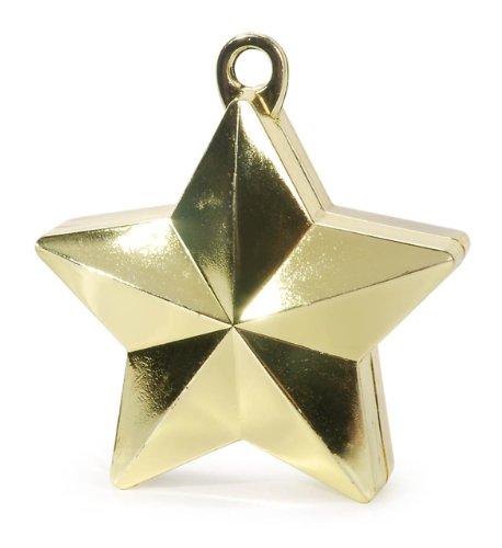 Darice, GOLD STAR BALLOON WEIGHT DWO