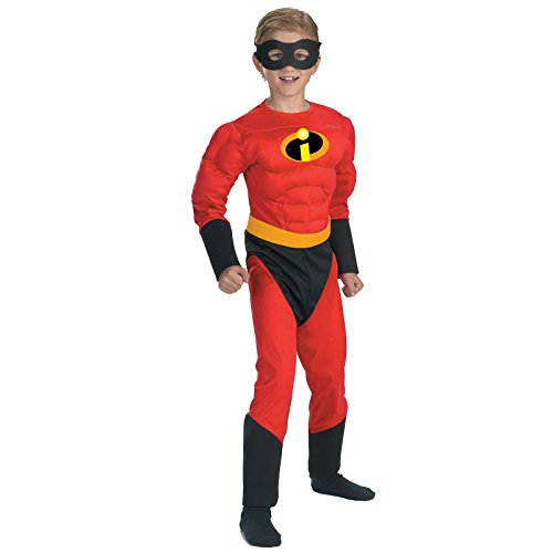 Mr. Incredible Muscle Child Costume Size 7-8