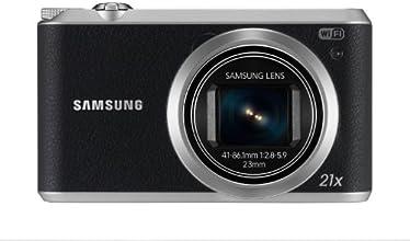 Samsung WB350F Appareil photo numérique compact Ecran LCD 3'' (7,6 cm) 16,3 Mpix Zoom optique 21x USB Wi-Fi NFC Noir