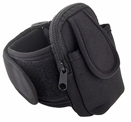 Amaranteen - Pracitcal Arm Band Sport Bag Case Pouch For Cell Phone Mp3