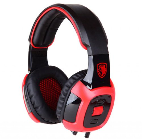 Blue Melody Best Elite Usb Wired Universal Top Stereo Pc Computer Mac Laptop Video Virtual Gaming Headset For Sa906 Red Black