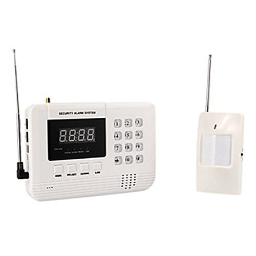 Jd-888 English Voice Feature Smart Wireless Gsm/Pstn Alarm System Kit For Home Security