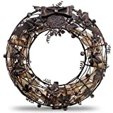 Wreath Cork Cage | 91-045, #3876