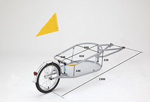 折りたたみ 自転車用カーゴトレーラー TR-1.2  201