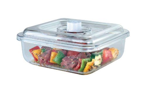FoodSaver FoodSaver T02-0050-05 Quick Marinator 2-1/4-Quart Square Canister